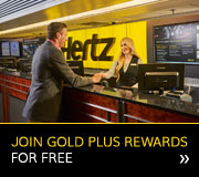 Join Hertz Gold Plus Rewards